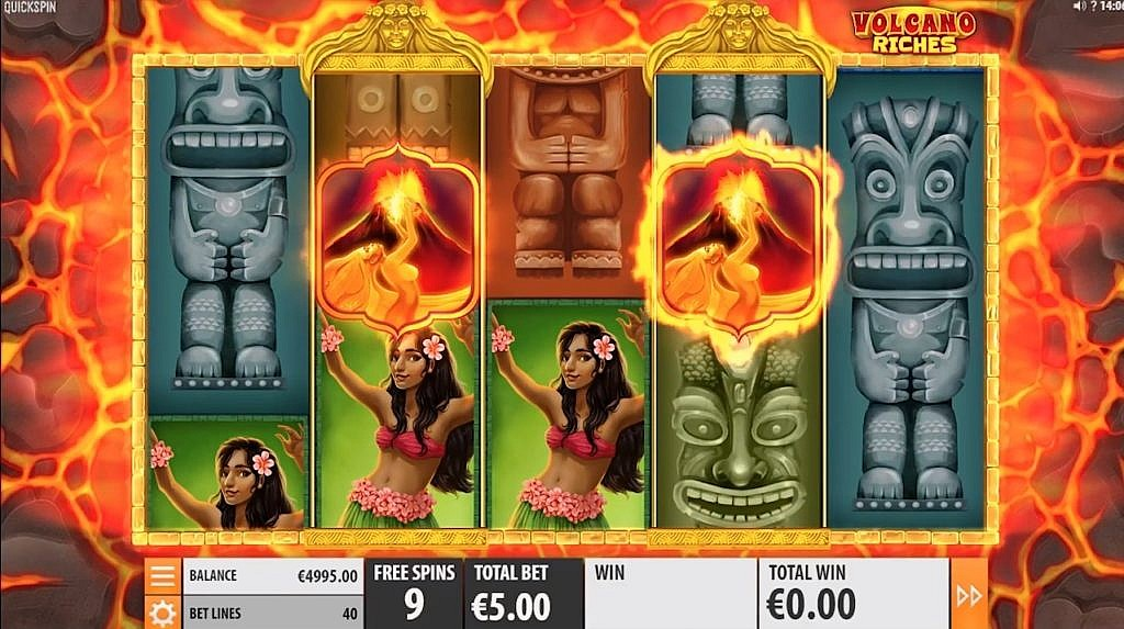 Volcano Riches Slot Game Review